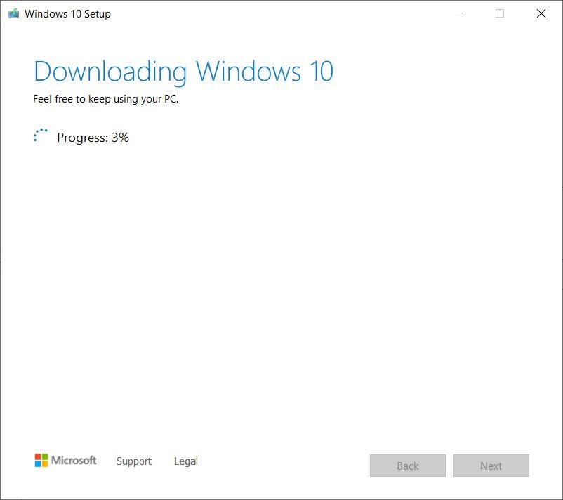 Download Windows 10 files