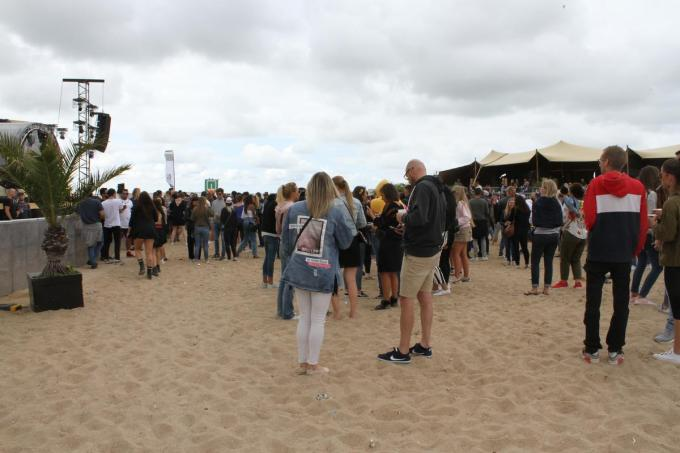 Ostend beach attracts around 15,000 visitors every year © photo JRO