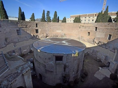 A special site opens to the public in Rome: the mausoleum of Emperor Augustus is unique