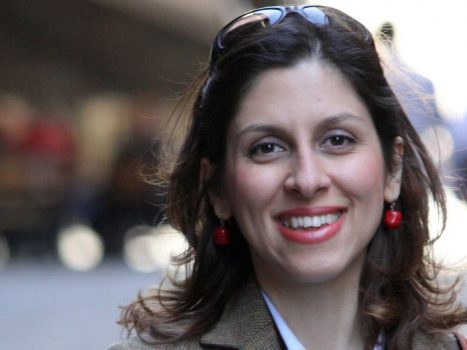 An Iranian-British aid worker is released after five years in prison in Iran