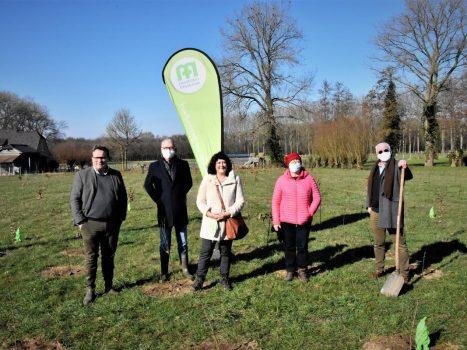 Volunteer Forest in De Gavers has 1,750 trees - KW.be