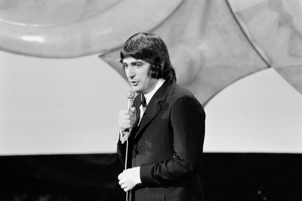 French Serge Lama at the Eurovision Song Contest (1971)