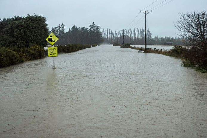 Many streets are inaccessible in the Canterbury area.