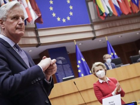 Now really official: The European Parliament approves the Brexit deal