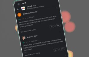 Gmail - Play Store Reviews, June 2021