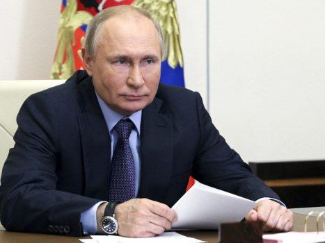 """Russische president Vladimir Poetin: """"Relatie met Verenigde Staten heeft dieptepunt bereikt onder Joe Biden"""""""