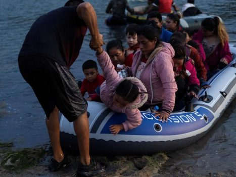 Migrants try to cross into the UK through our coast often