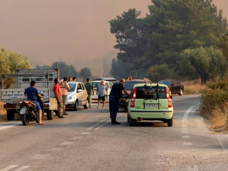 Fires continue: Tourists evacuated from Italy's Pescara and parts of Rhodes without electricity |  Weather News