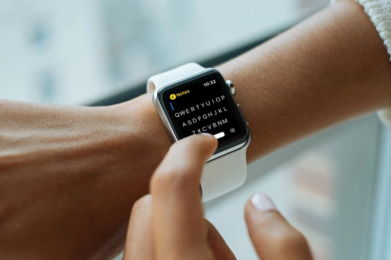 FlickType Notes on Apple Watch.