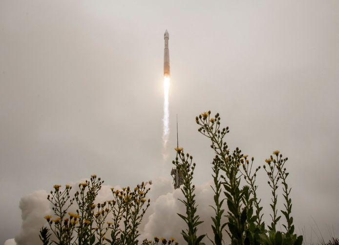 Landsat 9 departure last Monday in California.