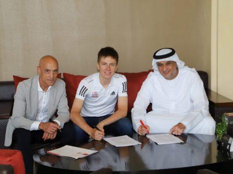 Two-time tour winner Tadej Pojjakar's contract extended...