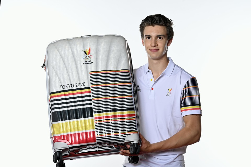 Jarno de Smet, 21, was only allowed to pack his suitcase for Tokyo at the beginning of this month.