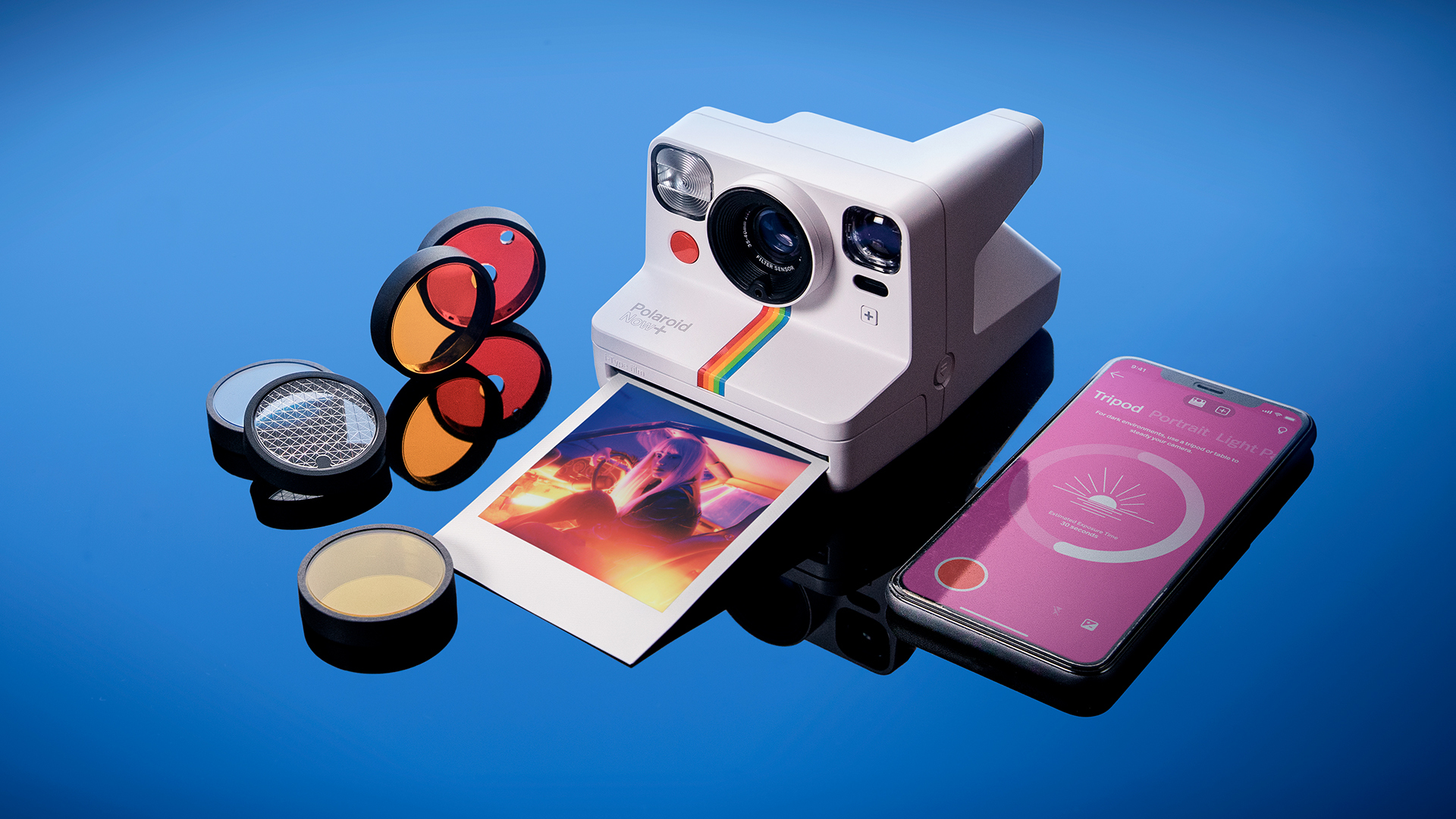 The latest fun-filled instant camera.