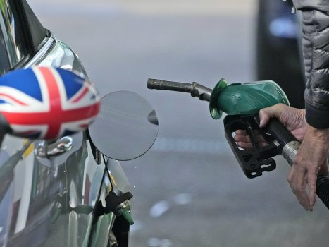 Deployment of the British Army to combat the shortage of fuel