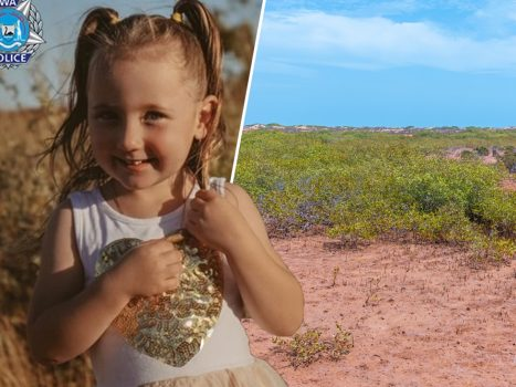 Cleo (4) suddenly disappeared during a camping trip with her parents...