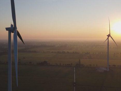 Geen beleid voor hoge windmolens in Enschede (Foto: RTV Oost/ Max van Olst)